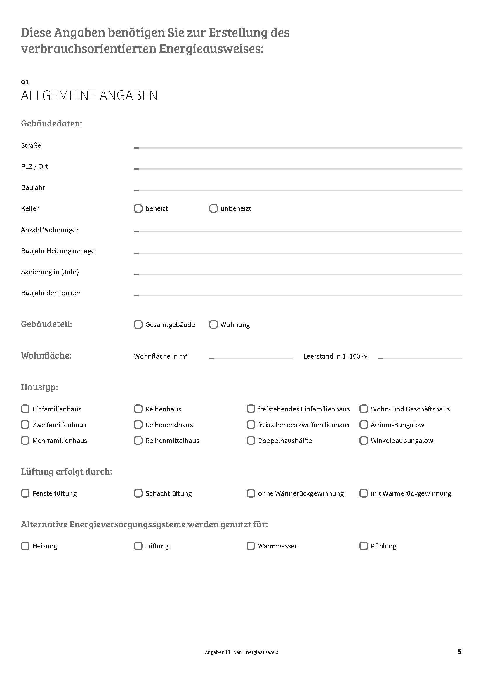 Der Energieausweis für Immobilien - Checkliste von Heckenlau Immobilien - Makler für den Verkauf von Wohnimmobilien in Stuttgart