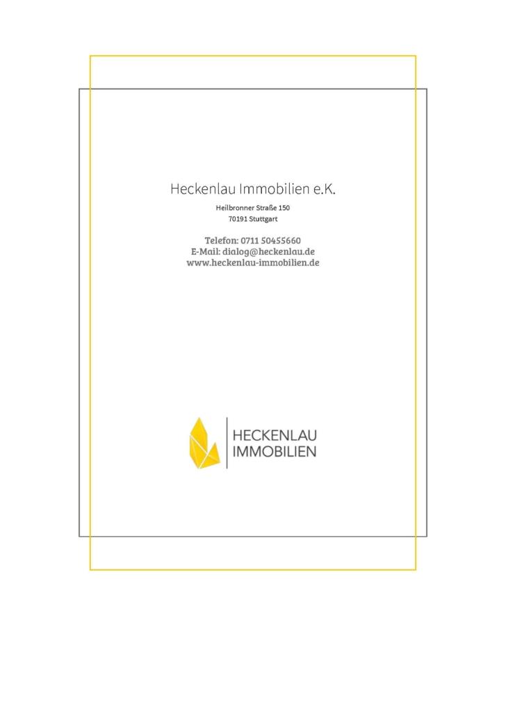 Wichtig für ein Exposé - Checkliste von Heckenlau Immobilien - Makler für den Verkauf von Wohnimmobilien in Stuttgart