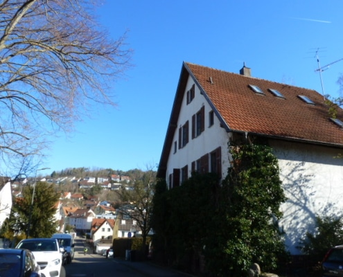 540 - Familienhaus mit historischem Charme im Herzen von Leonberg - Heckenlau Immobilien - Makler für den Verkauf von Wohnimmobilien in Stuttgart
