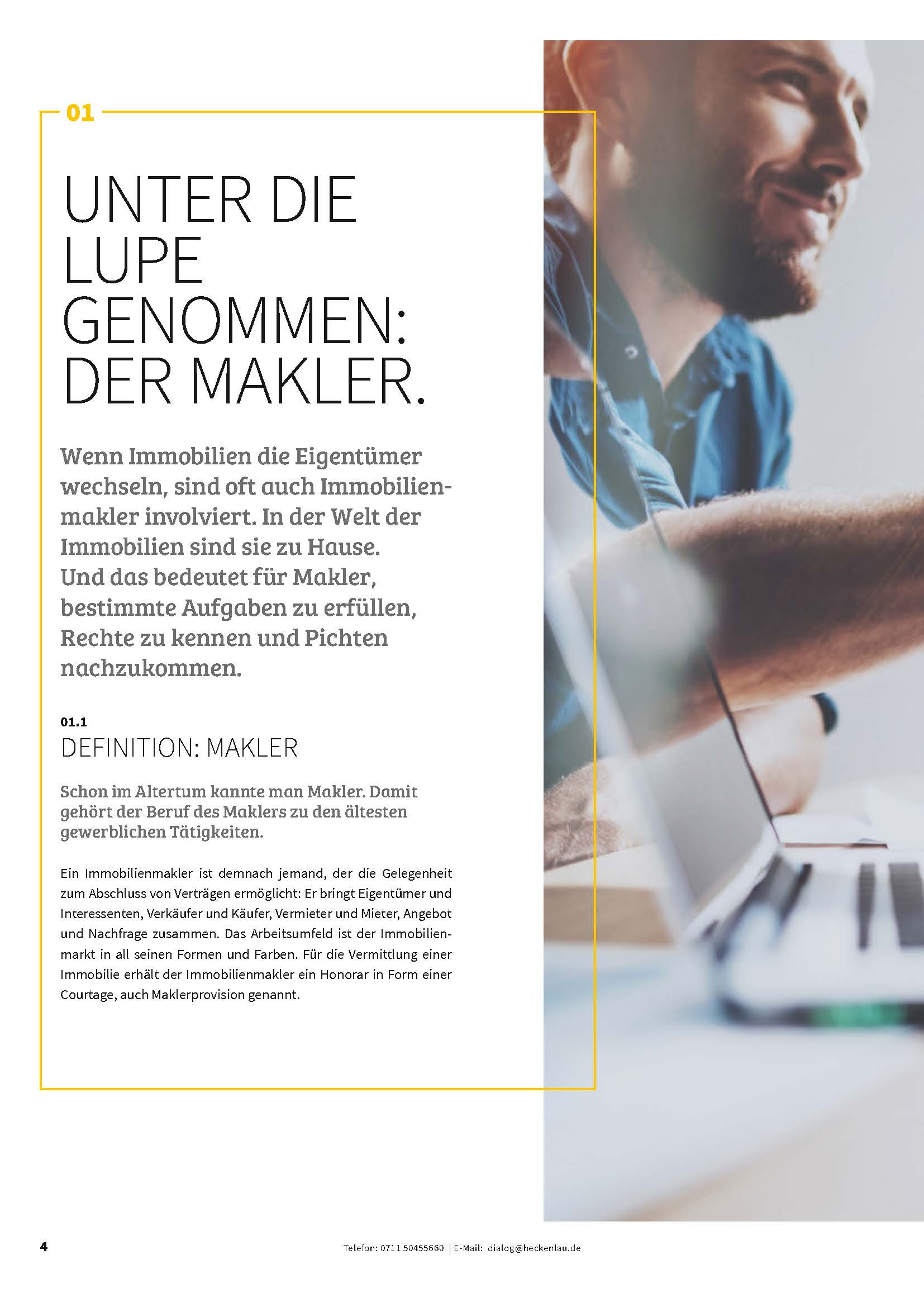 Immobilienwissen kompakt - Ratgeber von Heckenlau Immobilien - Makler für den Verkauf von Wohnimmobilien in Stuttgart