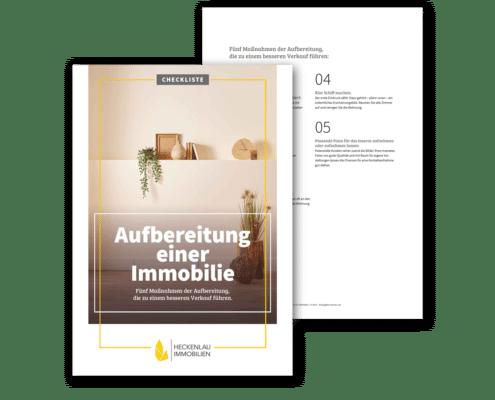 Aufbereitung einer Immobilie - Checkliste von Heckenlau Immobilien - Makler für den Verkauf von Wohnimmobilien in Stuttgart