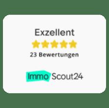 exzellente Bewertungen Immoscout24