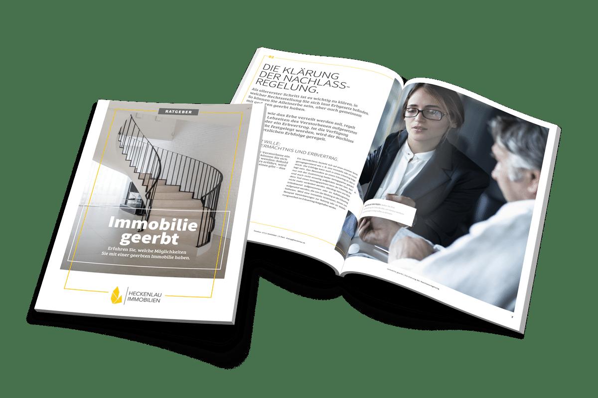 Immobilie geerbt - Ratgeber von Heckenlau Immobilien - Makler für den Verkauf von Wohnimmobilien in Stuttgart