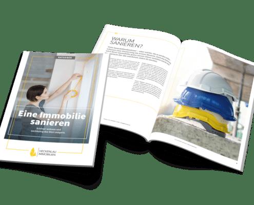 Sanierung einer Immobilie - Ratgeber von Heckenlau Immobilien - Makler für den Verkauf von Wohnimmobilien in Stuttgart