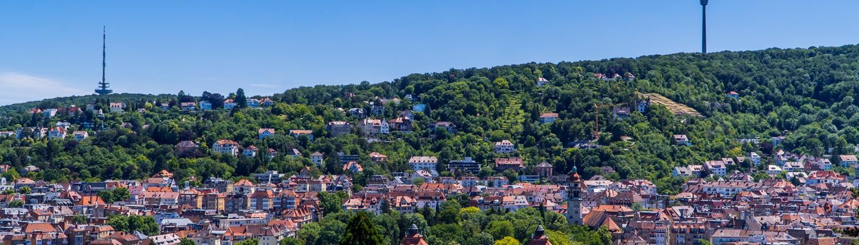 Stuttgart Skyline - Heckenlau Immobilien - Makler für den Verkauf von Wohnimmobilien in Stuttgart